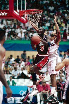 "Michael Jordan USA Basketball Team ""Dream Team"""
