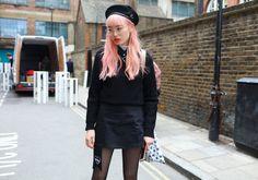 El street style del London Fashion Week - Imagen 12
