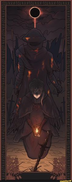 art, darksouls3, firekeeper, flame
