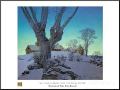 Hill Top Farm Prints by Maxfield Parrish at AllPosters.com