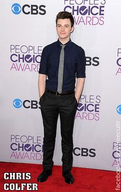 Chris Colfer at the 2013 People's Choice Awards!