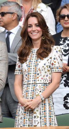 Catherine, Duchess of Cambridge in Alexander McQueen.
