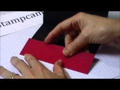 Quick Tip to Create a Money or Gift Card Holder - www.thestampcamp.com/b...