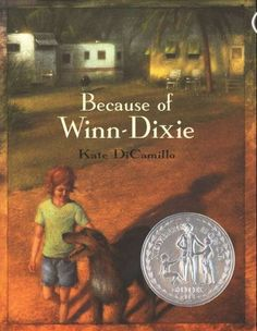 Because of Winn-Dixie. Loved reading this with the kids. Enjoy DiCamillo's themes of heart-ache and despair paired with hope, love, and perseverance.