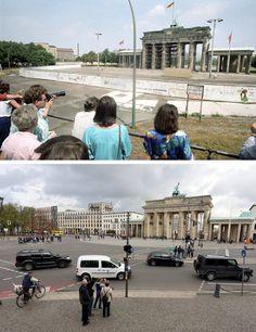 Fotogalerie: Berliner Ansichten vor und nach der Wende