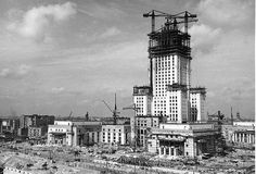palace of culture during construction - Google Search
