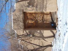 Santa Fe Door in winter.