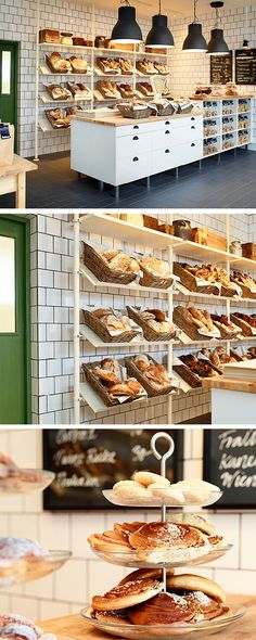 No anonymous plastic bags in here. Instead, rattan baskets show off all the lovingly-baked goods in the most tempting way. The art of baking turns into the art of display. And customers become bread connoisseurs.