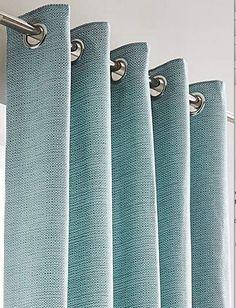 Mila Boucle Eyelet Curtains