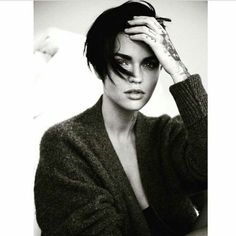 I mean, I also just totally have a girl crush on Ruby Rose