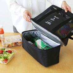 Multi Color Portable Isotherme Refroidisseur Sac Étanche Picnic Food Lunch Box Large