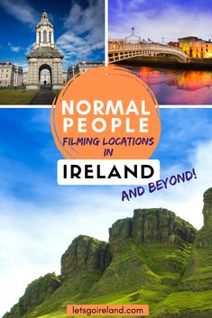 Normal People is amazing! If you want to trace the steps of Marianne & Connell, here you will find the best filming locations in Ireland, Italy and Sweden! Ireland Vacation, Ireland Travel, Italy Travel, Europe Travel Guide, Travel Destinations, Ireland Culture, Dublin City, Ireland Landscape, Normal People
