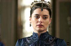 "Halime Hatun - Magnificent Century: Kösem - ""The Wheel of Fate (Felegin Cemberi)"" Season Episode 21 Sultan Kosem, Royal Dresses, Brooch, Celebrities, Beautiful, Season 1, Jewelry, Soap, Fandoms"