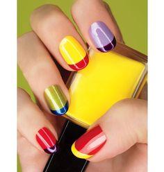 multicolour   #nail