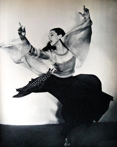 Martha Graham, 1941.
