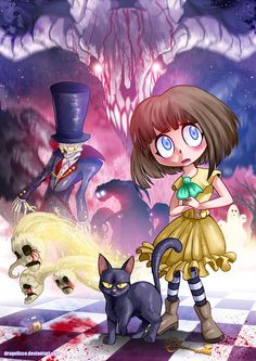 watched a lets play of Fran Bow and it was really interesting