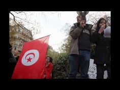 Révolution tunisienne : manifestation de soutiens à Paris 12.04.2012