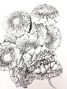 The Helpful Art Teacher A Garden Of Flowers Blending Colors Using Oil Pastels