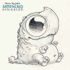 Dino-Welpe!  #morningscribbles