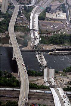I 35 Bridge collapse MN