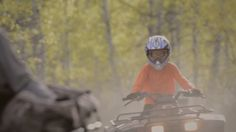 Safe Trails. Serious Fun. Learn how to gear up for a safe ATV ride with your family!