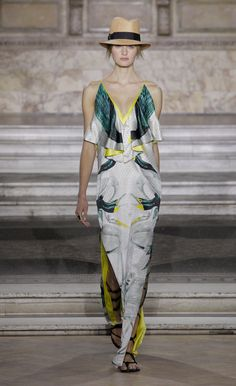 Temperley London Summer '16 Etini Ruffle Dress