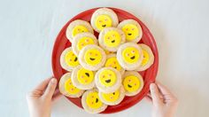 Emoji Sugar Cookies: These adorable Emoji Sugar Cookies are anything but boring. Using premade sugar cookie dough, fondant, frosting, and sprinkles, you can easily customize these sweet treats with your favorite emoticons.