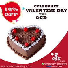 First of all, Cherry On Top valentine chocolate Cake heart is the place where love resides. Valentine Day Special Cakes online delivery for your dear one by OCD. Valentines Day Chocolates, Valentine Chocolate, Valentine Cake, Valentine Day Special, Fake Cake, Cake Online, Cherry On Top, Chocolate Cake, Desserts