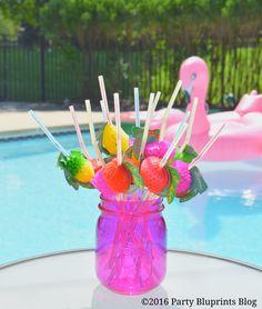 Tropical Sangria Party Bar and Recipe