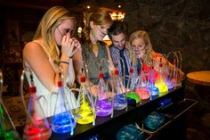 Pagosa Springs Oxygen Bar (Altitude Sickness, Hangovers, etc.) - found these so cool when I saw it on a holiday show in Tokyo that use to have loads of these bars - they don't sell alcohol just pure scented oxygen good for your health especially in a polluted city.
