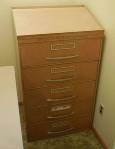 Mccall S Pattern Cabinet