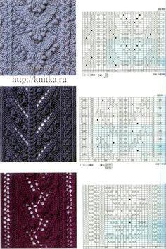 Varios patrones interesantes de tejer - LA CASITA DE MABELY - Gabito Grupos