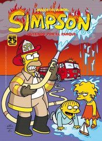 Simpson: Huyendo por el parque, de Matt Groening - Editorial: Ediciones B - Signatura: J SIM huy - Código de barras: 3311623