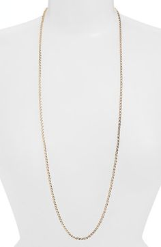 Nordstrom Flat Link Chain Necklace available at #Nordstrom