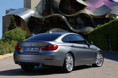 BMW 4-serie Gran-Coupé Individual in Frozen Silver