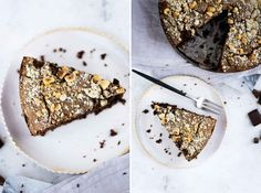 Chocolate and Hazelnut Cake with Rum Raisins and Rosemary Sugar by Nigel Slater