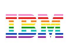 IBM versiona su logo en apoyo a la comunidad LGTB