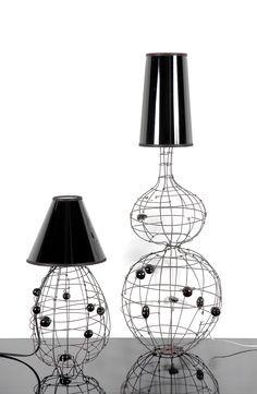 Marie Christophe lamps www.lisafontanarosa.com