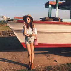 Look boho lindo para o verão da Giovanna Ferrarezi