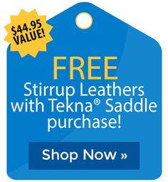 FREE Stirrup Leathers with Tekna� Saddle purchase! Stirrup Leathers, Horse Supplies, Cyber Monday Sales, Holiday Deals, Striped Socks, The Selection, Free