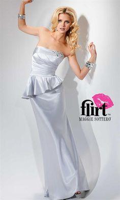 Flirt Dress P4633 at Peaches Boutique