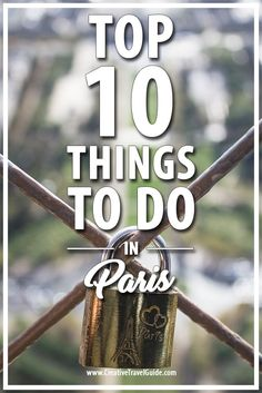 We love Paris and there is so much to see and do! Here is our favourite things to do in Paris - especially on your first visit!