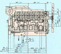 Двигатель Mitsubishi S12R-PTA, фото 1