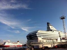 Silja Symphonie and Viking Line