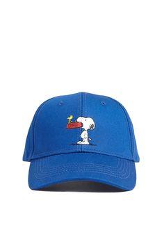 36777fe9d3a9e Men Snoopy   Woodstock Graphic Snapback Hat