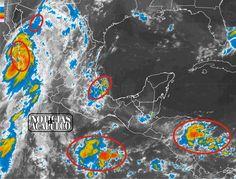 """HURACÁN """"NEWTON"""" CATEGORÍA 1 IMPACTA EN BAJA CALIFORNIA SUR!!! * 80% de probabilidad de tormentas fuertes en puntos de Guerrero.  Acapulco de Juárez Guerrero, a 6 de septiembre de 2016.- A las 07:00 horas, tiempo del centro de México, el centro del huracán Newton, categoría 1 en la escala Saffir-Simpson, impactó en la costa sur de la..."""