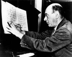 Arnold Schönberg (13/09/1874 - 13/07/1951)