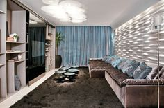 Modern living wall - 8 inspiring examples to imitate - Home Decoration Living Room Photos, Living Room Modern, Living Room Sofa, Home And Living, Arch Interior, Interior Decorating, Interior Design, Living Room Home Theater, Bedroom Nook