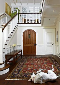 "English country manor - Entry hall  : Jamie Itagaki....""I'm so happy you're home!!"""