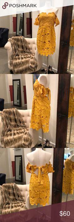 Few Moda Alison Dress New with tags. On sale from a boutique in Alaska. Few Moda Dresses Mini
